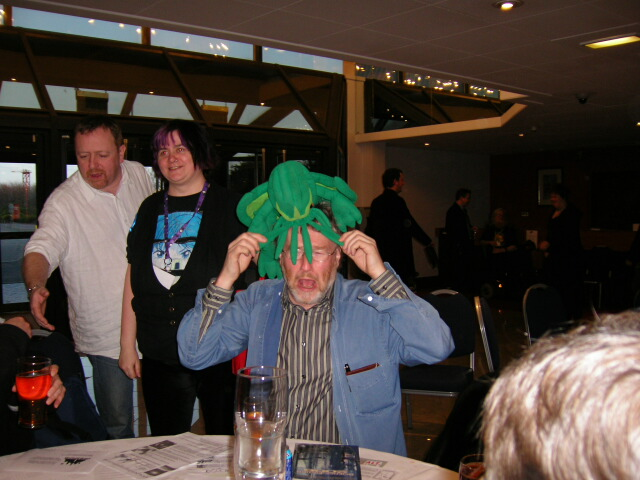 Cthulu vs. Iain M. Banks, Eastercon 2006