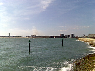 Smoke over Gosport...