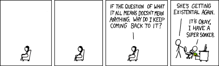 Philosophy - xkcd webcomic