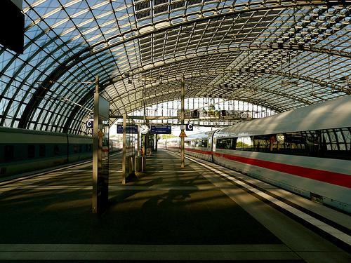 Hauptbahnhof railway terminal, Berlin