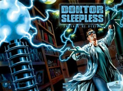Doktor Sleepless: Engines Of Desire - Warren Ellis