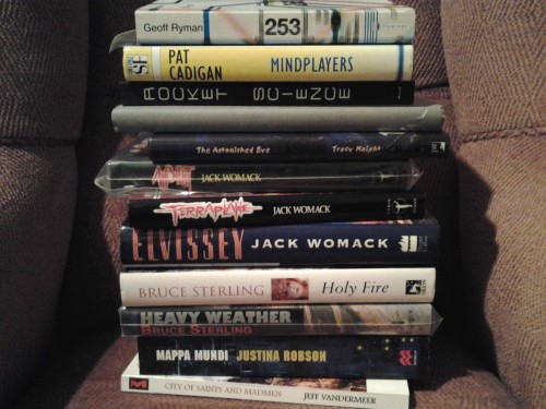 Eastercon book acquisitions