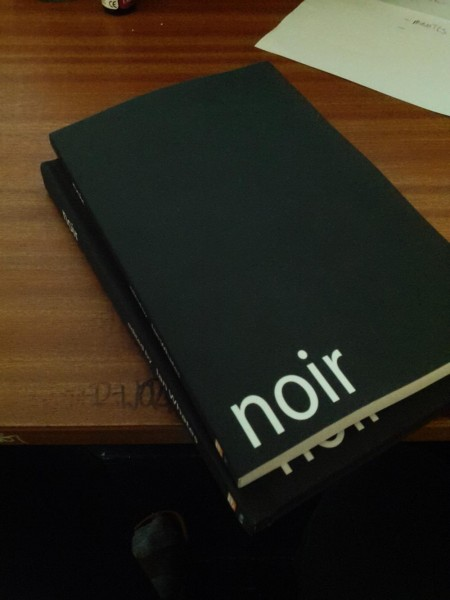 Noir anthology: author copies