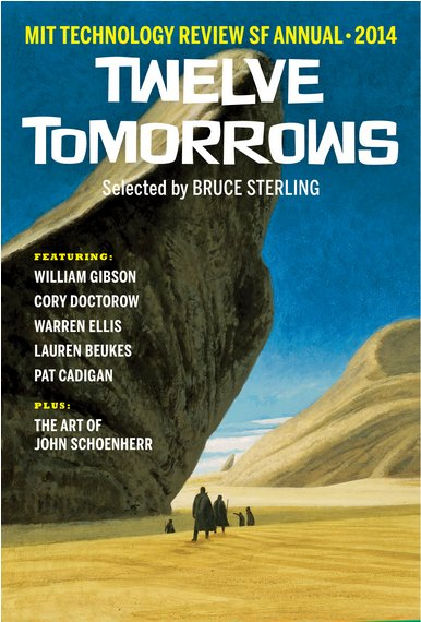 Cover art for Twelve Tomorrows-2014