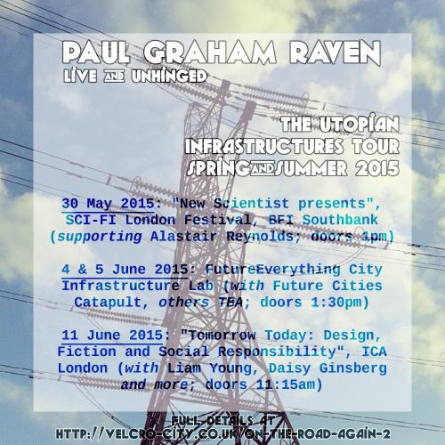 Tour poster, summer 2015