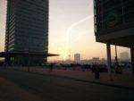 Random image: Rotterdam sunset